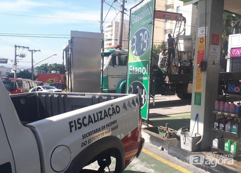 Megaoperação De Olho na Bomba fiscaliza 171 postos de combustíveis em todo o Estado - Crédito: Divulgação