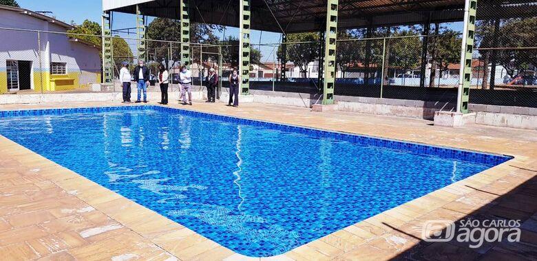 Prefeitura investe R$ 1,4 milhão na recuperação de piscinas da rede municipal de ensino - Crédito: Divulgação