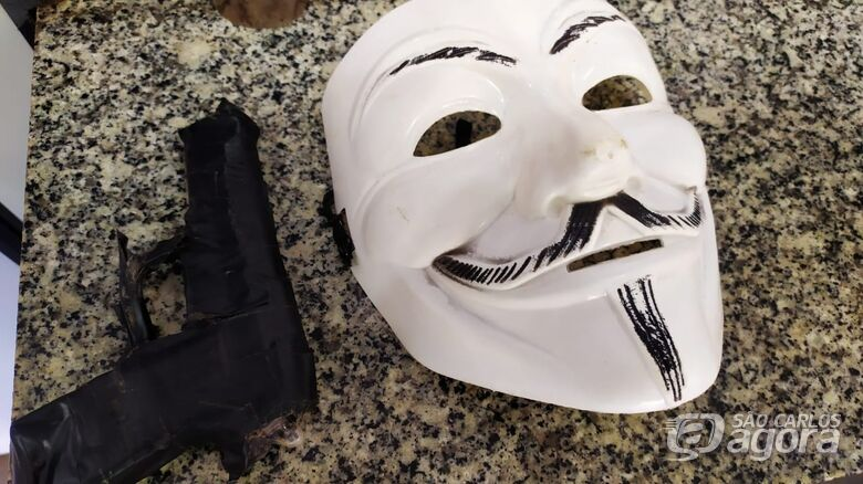 Mascarado com arma falsa tenta assaltar família no Planalto Verde - Crédito: Maycon Maximino