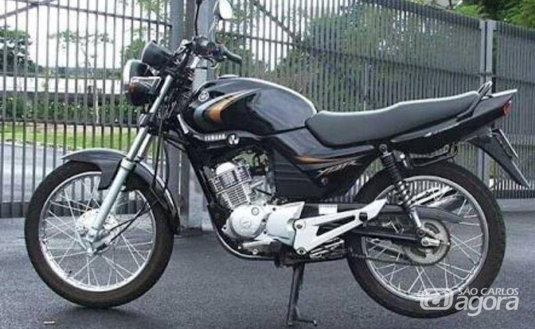 Moto é furtada no centro e proprietário pede ajuda para localizá-la - Crédito: Divulgação