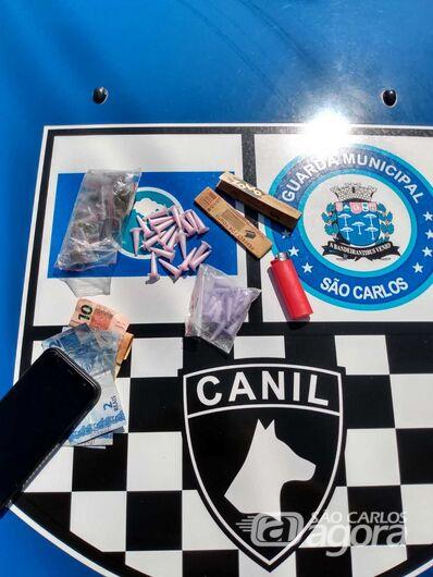 Dupla é detida com entorpecentes no Arnon de Mello - Crédito: Divulgação