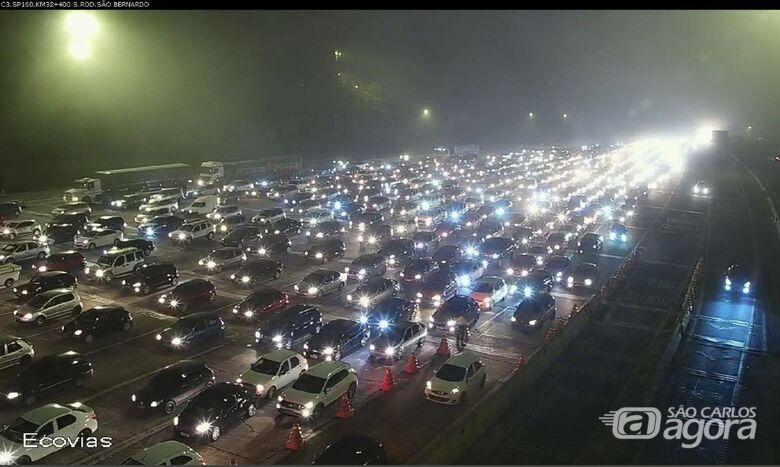 Mais de 215 mil veículos buscam litoral paulista no feriado prolongado - Crédito: Divulgação