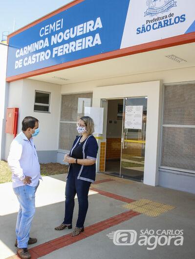 Roselei solicita ampliação de escola do residencial Eduardo Abdelnur - Crédito: Divulgação
