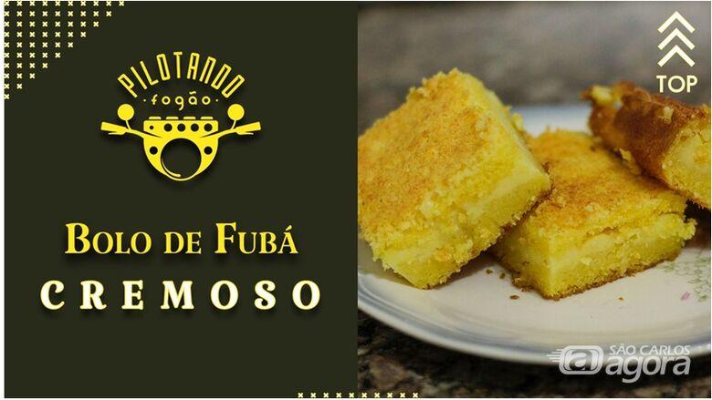 Vinicius Holmo ensina a preparar um delicioso bolo de fubá cremoso -