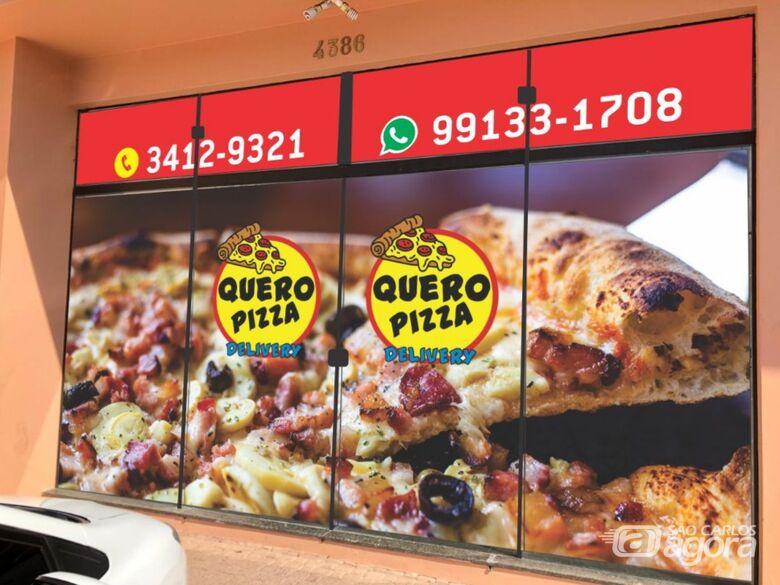 Quero Pizza Delivery inaugura neste sábado (19) com preços especiais - Crédito: Quero Pizza Delivery