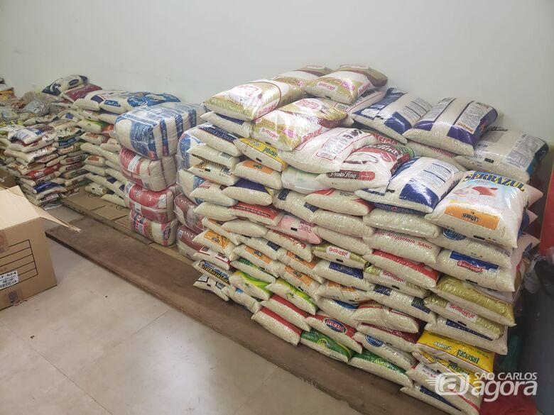 """""""Juntos Somos Mais Fortes"""" arrecada mais 5,6 toneladas de alimentos e produtos de higiene - Crédito: Divulgação"""