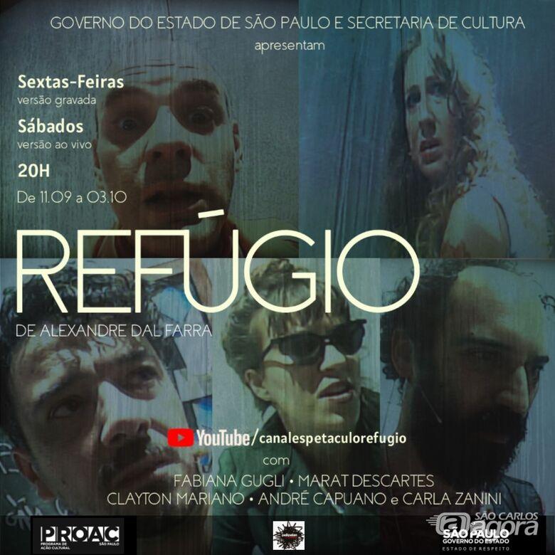 Refúgio será atração virtual neste final de semana em São Carlos - Crédito: Divulgação