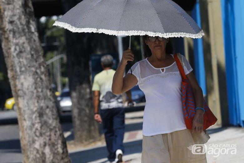 Massa de ar seco e quente deve ficar no país até semana que vem - Crédito: Arquivo/Agência Brasil