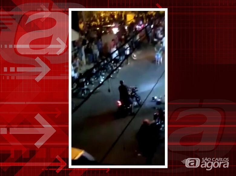 Moradores flagram aglomeração no bairro Cidade Aracy; veja vídeo -