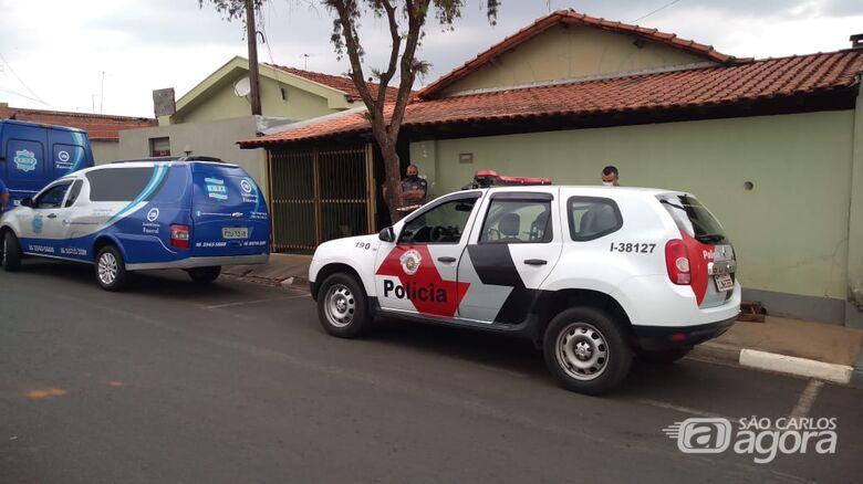 Homem é encontrado morto dentro de casa no Jardim Mariana em Ibaté - Crédito: Colaborador/SCA