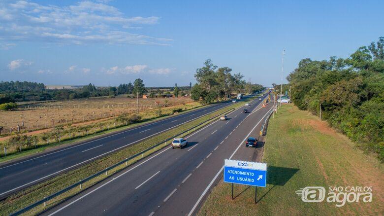 Apesar de tráfego intenso, rodovias paulistas registram queda de mortes e de acidentes no feriado - Crédito: Eixo SP