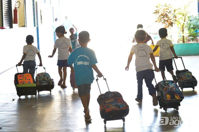 Aulas presenciais de reforço começam nesta terça na rede particular e estadual - Crédito: Agência Brasil