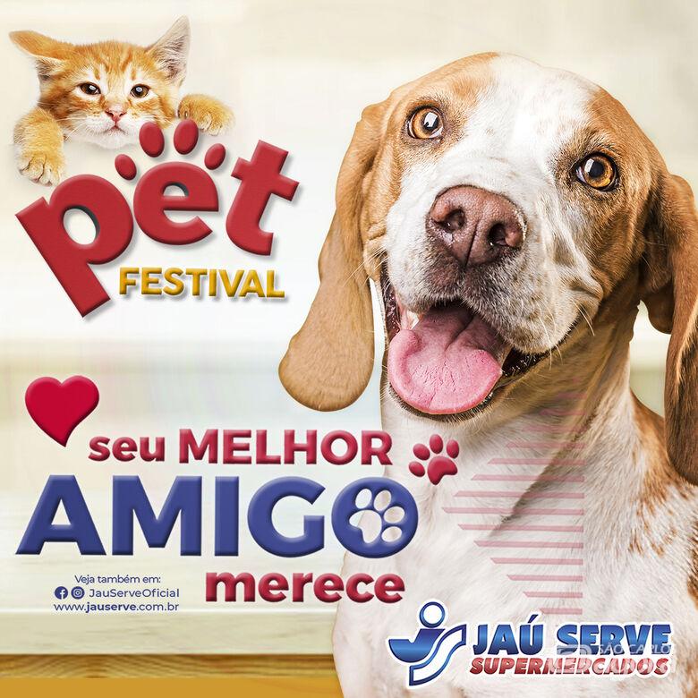 Rede Jaú Serve Supermercados lança seu Festival PET com muitas promoções e novidades - Crédito: Divulgação