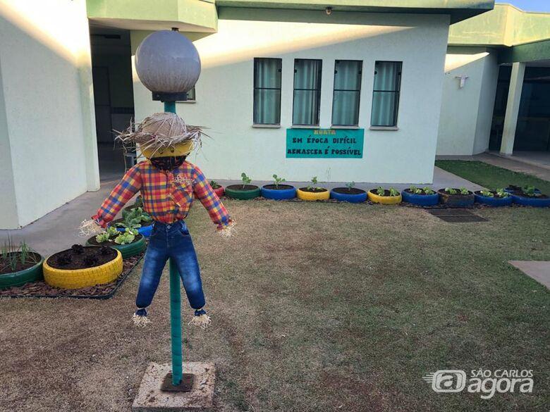 Creche de Ibaté mantém ativo projeto de Horta na Escola - Crédito: Divulgação