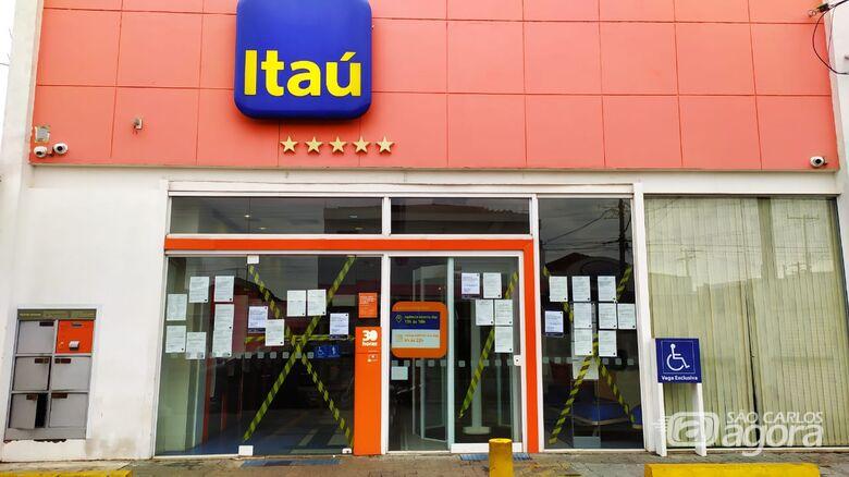 Itaú da avenida Sallum é novamente fechado por suspeita de Covid-19 entre funcionários - Crédito: Maycon Maximino/arquivo