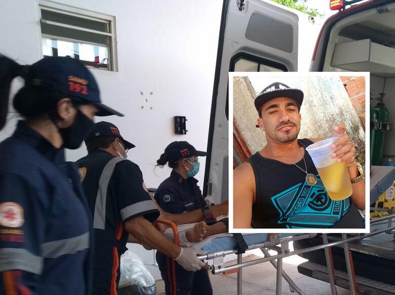 Homem baleado no Jardim Gonzaga morre na Santa Casa - Crédito: Maicon Ernesto/arquivo pessoal