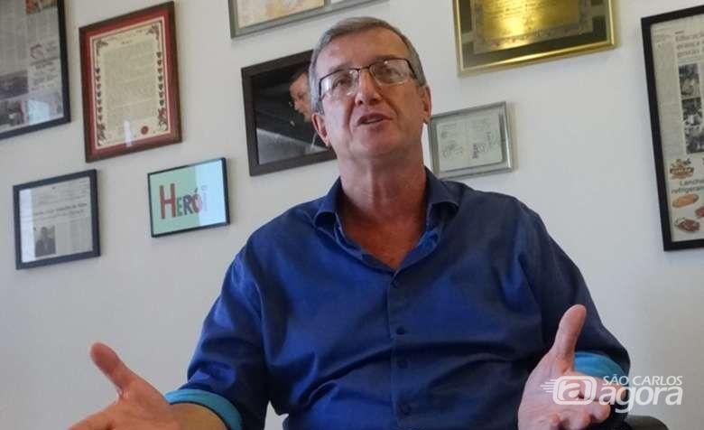 Nino Mengatti anuncia candidatura à Prefeitura de Araraquara - Crédito: Marcos Escrivani/Arquivo