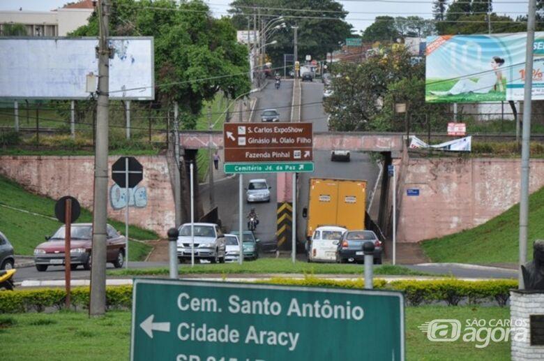 RUMO vai investir R$ 50 milhões em São Carlos; viaduto da Praça Itália será duplicado - Crédito: Arquivo/SCA