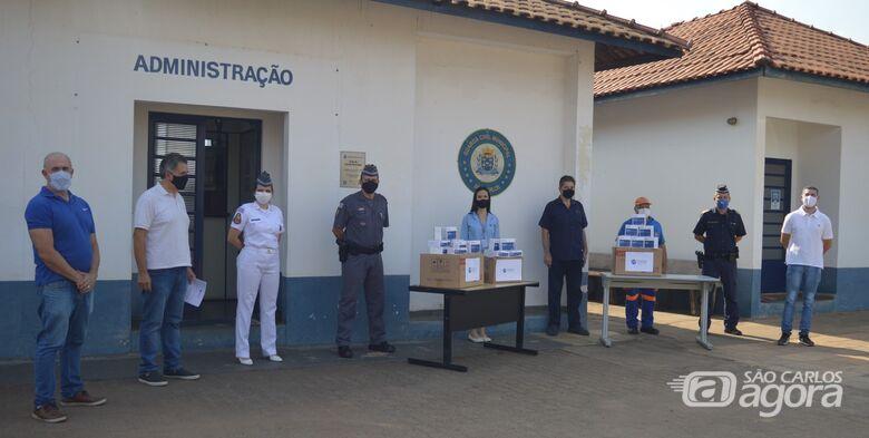Segurança de São Carlos recebe doação de testes de Covid-19 - Crédito: Divulgação