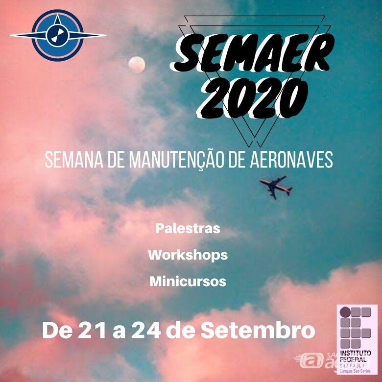 IFSP São Carlos realizará a Semana de Manutenção de Aeronaves - Crédito: Divulgação
