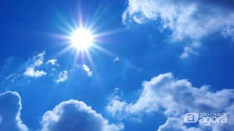 Final de semana será de sol e calor - Crédito: Divulgação