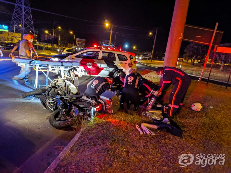 Motociclista morre em acidente na Getúlio Vargas - Crédito: Maycon Maximino