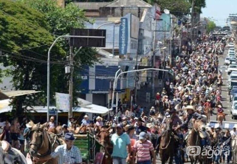 Capital das cavalgadas, São Carlos comemora o Dia do Cavalo - Crédito: Divulgação