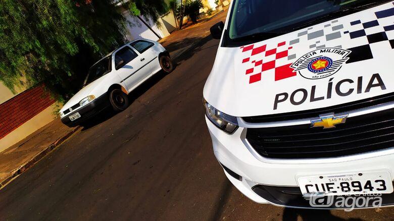 PM prende acusado de furtar carro na Vila Faria - Crédito: Maycon Maximino