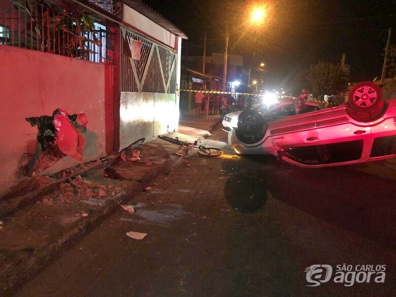 Homem fica gravemente ferido após ser atropelado e motorista foge do local - Crédito: Luciano Lopes