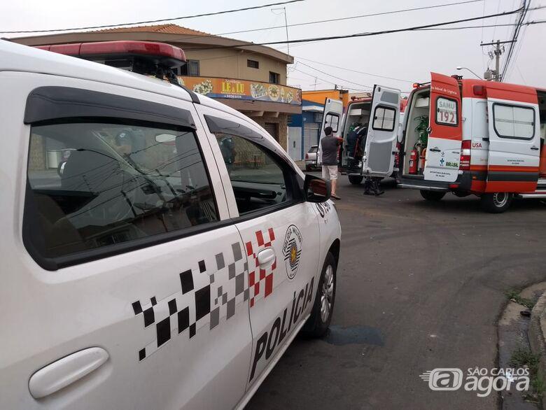 Motorista avança pare e causa colisão no Maria Estela Fagá - Crédito: Maicon Ernesto