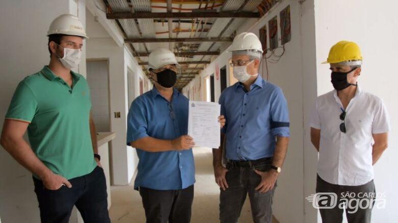 Unimed São Carlos recebe licença para execução das obras da segunda etapa do Hospital 2 - Crédito: Divulgação