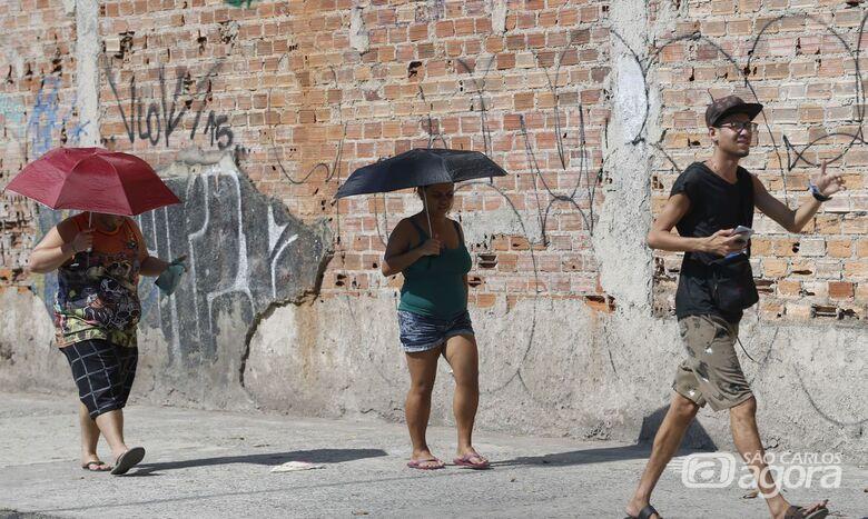 Calor intenso deve persistir no estado de São Paulo - Crédito: Agência Brasil