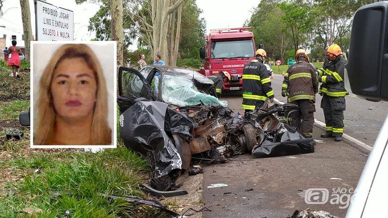 Morre gestante que bateu de frente com carreta na SP-215 - Crédito: Maycon Maximino/São Carlos Agora