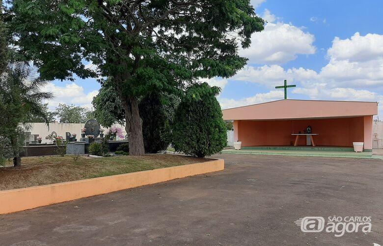 Dia de Finados: serão celebradas duas missas, às 9h e às 17h, no Cemitério Municipal de Ibaté - Crédito: Divulgação