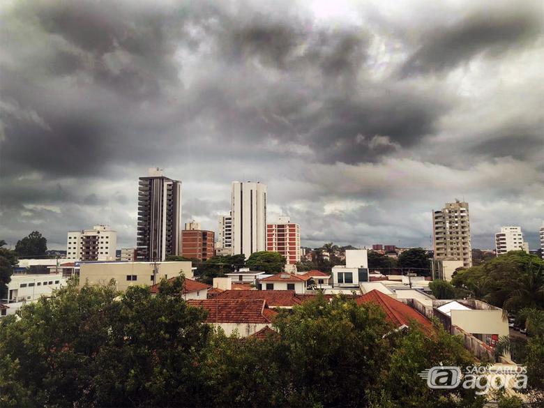 Defesa Civil emite alerta para possibilidade de chuva forte neste sábado em São Carlos - Crédito: Arquivo SCA