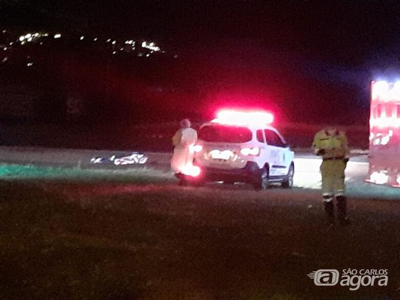 Homem morre atropelado na Washington Luís - Crédito: Araraquara 24 horas