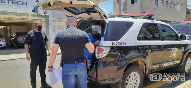 DIG prende procurado por estupro no Aracê de Santo Antonio - Crédito: Colaborador/SCA