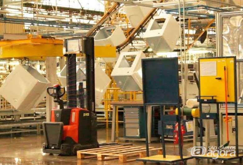 Fábrica da Electrolux em São Carlos - Crédito: Divulgação