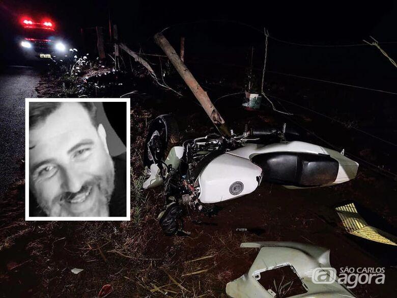 Motociclista que ia ao encontro do filho morre em estrada na região - Crédito: Redes sociais