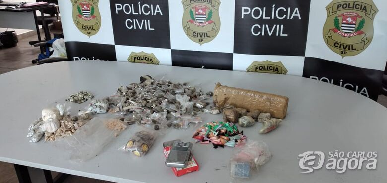 DISE realiza apreensão de drogas no Planalto Verde - Crédito: Maycon Maximino