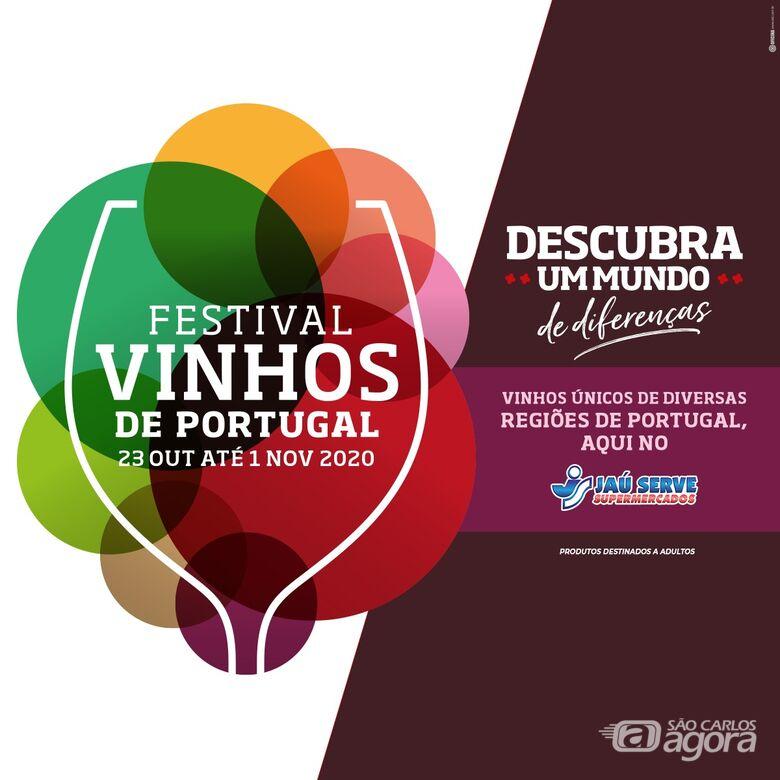 Festival de Vinhos de Portugal do Jaú Serve Supermercado convida para descobrir muitos sabores - Crédito: Divulgação