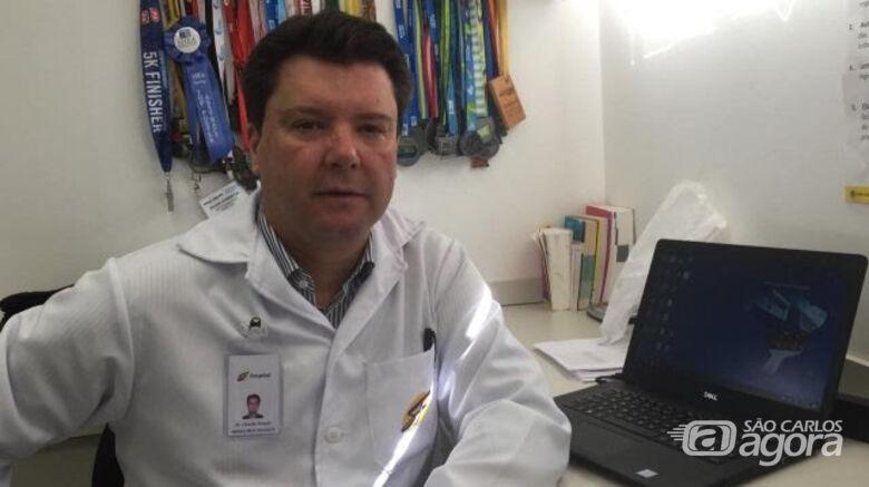 Médico infectologista da Comissão de Controle de Infecção do Hospital São Francisco, Claudio Penido Campos Júnior - Crédito: Divulgação