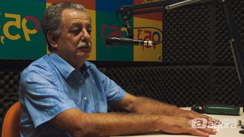 Benedito Marquezin,  presidente da autarquia. - Crédito: Rádio UFSCar