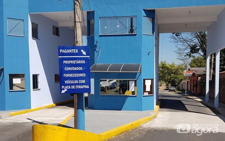 Portaria do Broa é liberada, mas decreto proíbe a circulação e a permanência na orla da represa - Crédito: Divulgação