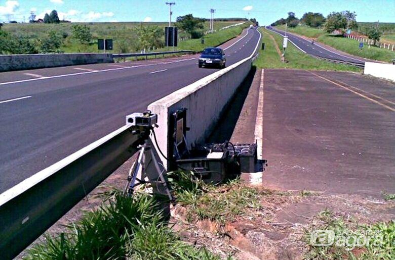 Estado vai divulgar na internet localização de todos os radares de estradas de SP - Crédito: Divulgação