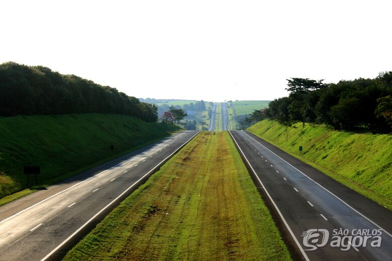45 mil veículos passaram pela Washington Luís durante o feriado de Nossa Senhora Aparecida - Crédito: Divulgação
