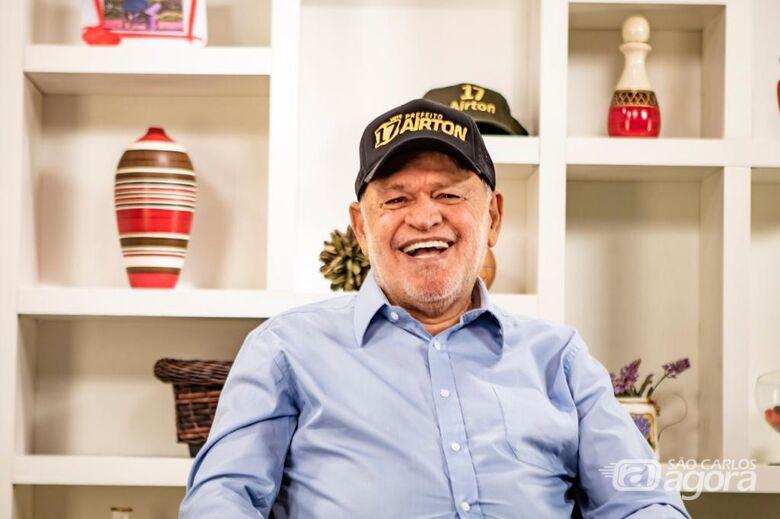 Airton aposta na experiência para governar por mais 4 anos - Crédito: Divulgação
