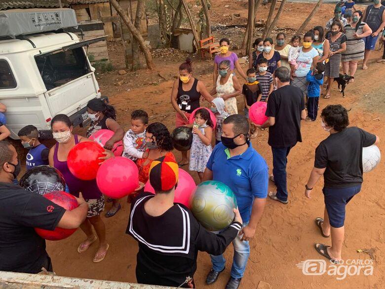Leite Sem Fronteiras promove a alegria de 1,5 mil crianças em São Carlos - Crédito: Divulgação