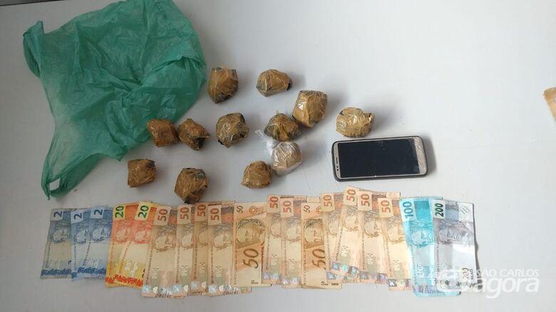 Motociclista é preso após ser flagrado com drogas no assentamento dos sem-terra -