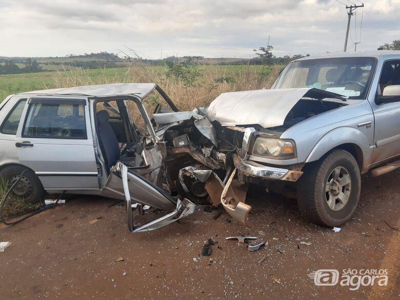 Idosa morre em acidente na região de Ribeirão Bonito - Crédito: Araraquara 24 Horas